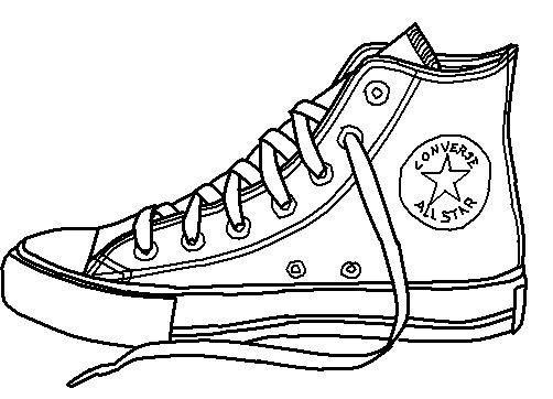 Converse clipart black and white graphic freeuse download Converse clipart black and white » Clipart Portal graphic freeuse download