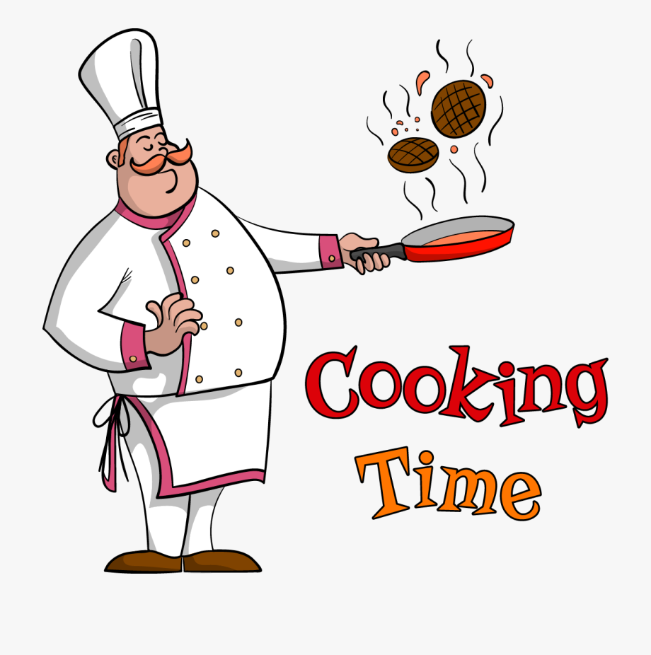 Cook chief clipart jpg Cooking Food Frying Pan - Clipart Chef , Transparent Cartoon, Free ... jpg