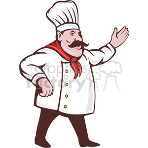 Cook holding a banner from the side clipart jpg chef clipart - Royalty-Free Images Page # 8 | Graphics Factory jpg
