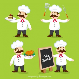 Cook holding a banner from the side clipart clip transparent Chef Vectors, Photos and PSD files | Free Download clip transparent