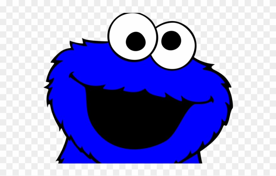 Cookie monster clipart face black and white jpg library download Cookie Monster Clipart High Resolution - Transparent Cookie Monster ... jpg library download