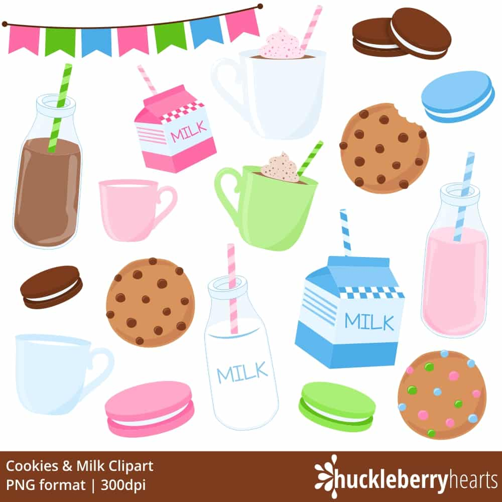 Cookies and milk clipart image Cookies and Milk Clipart image