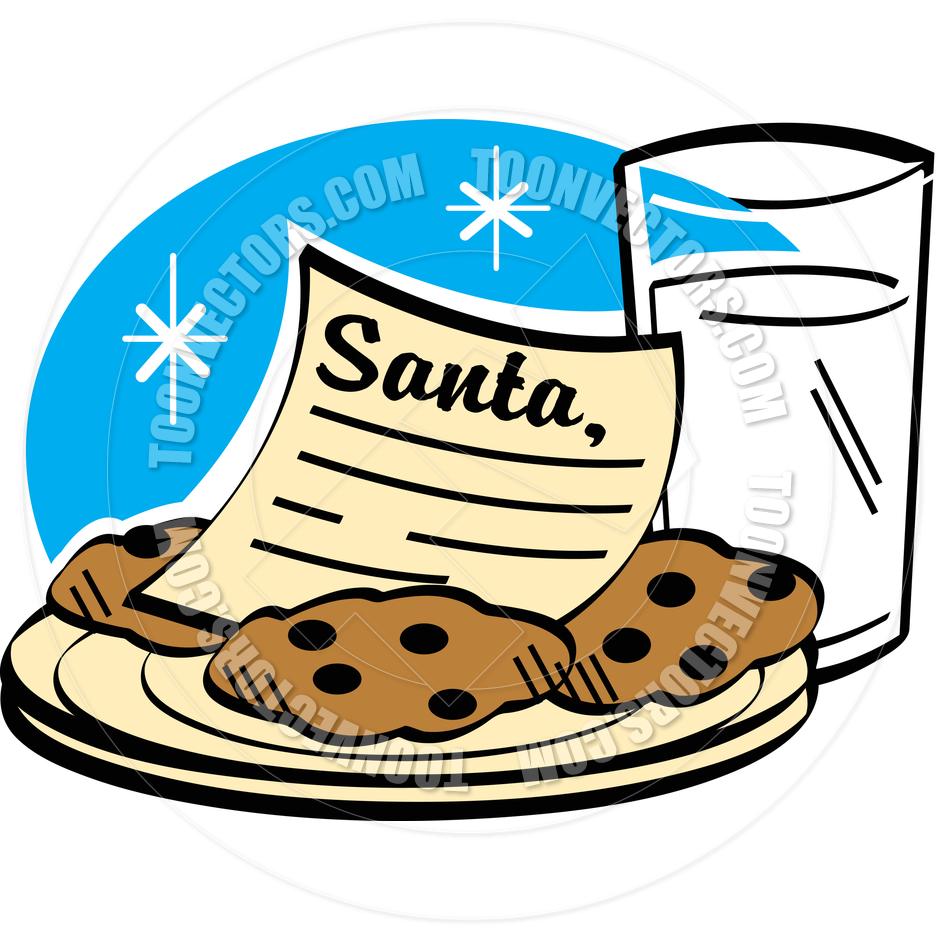 Cookies and milk for santa clipart clip art freeuse download Cookies And Milk Clipart | Clipart Panda - Free Clipart Images clip art freeuse download