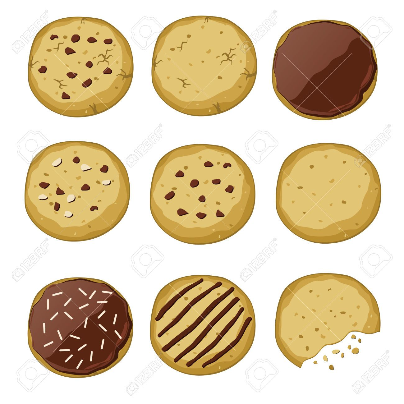 Cookies clipart vector image free download 13,035 Sugar Cookies Cliparts, Stock Vector And Royalty Free Sugar ... image free download