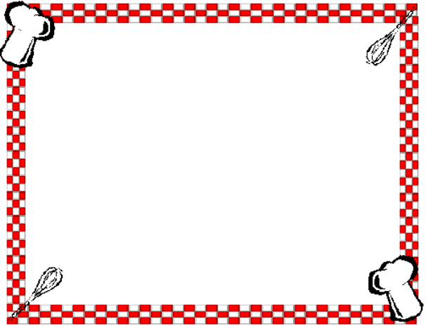 Cooking clip art borders download Kitchen Borders Clipart - Clipart Kid download