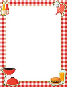 best images about. Cooking clip art borders