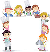 Free clipartfest baking clipart. Cooking clip art borders