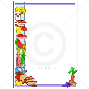 Cooking clip art borders. And frames clipart panda