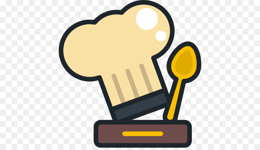 Cooking icon clipart graphic black and white stock Chef Cartoon clipart - Chef, Cooking, Yellow, transparent clip art graphic black and white stock