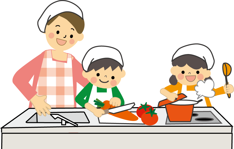 Cooking with kids clipart clip art library stock Kids cooking clipart clipart images gallery for free download ... clip art library stock