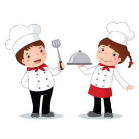 Cooking with kids clipart banner transparent Kids Cooking Images   Free download best Kids Cooking Images on ... banner transparent