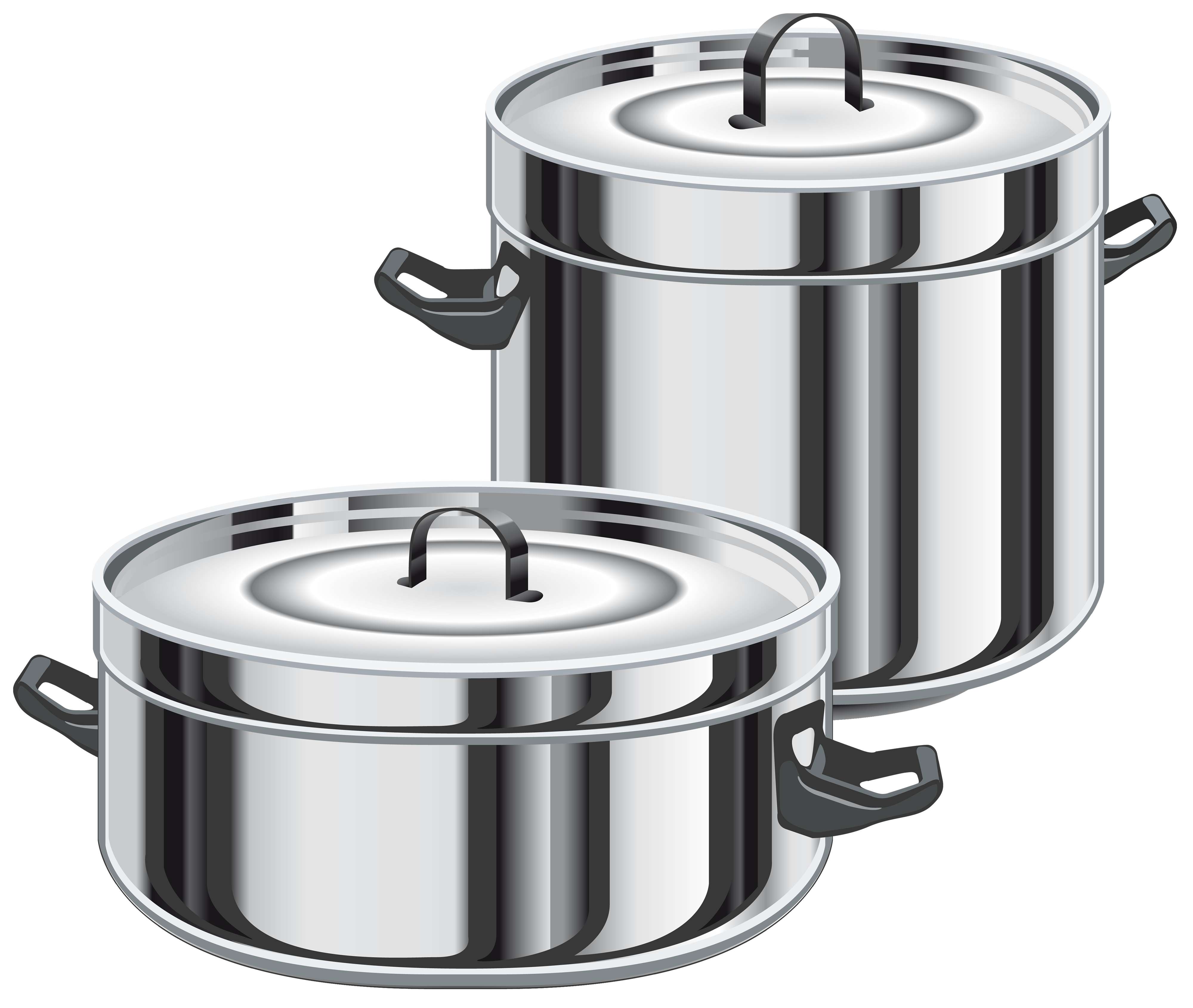 Free printable blackline clipart of a pot lid picture freeuse download Cooking Pots PNG Clipart - Best WEB Clipart picture freeuse download