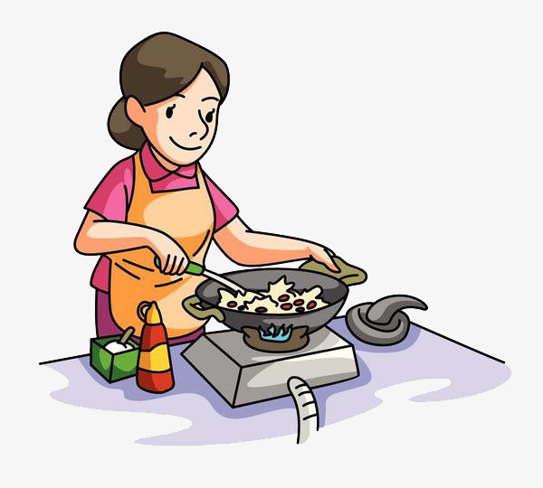Uses of water for cooking clipart