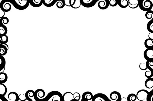 Cool border clipart svg black and white Free Cool Page Borders, Download Free Clip Art, Free Clip Art on ... svg black and white