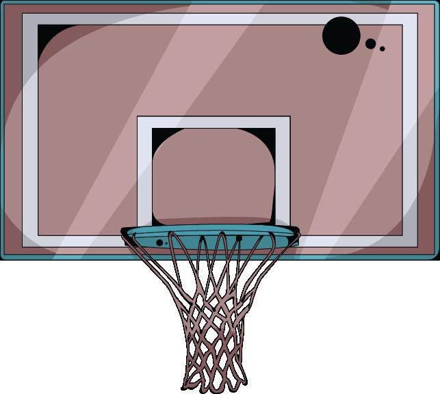 Cool clipart of basketball court clip Cartoon Basketball Basketball court Backboard - Brown fresh ... clip