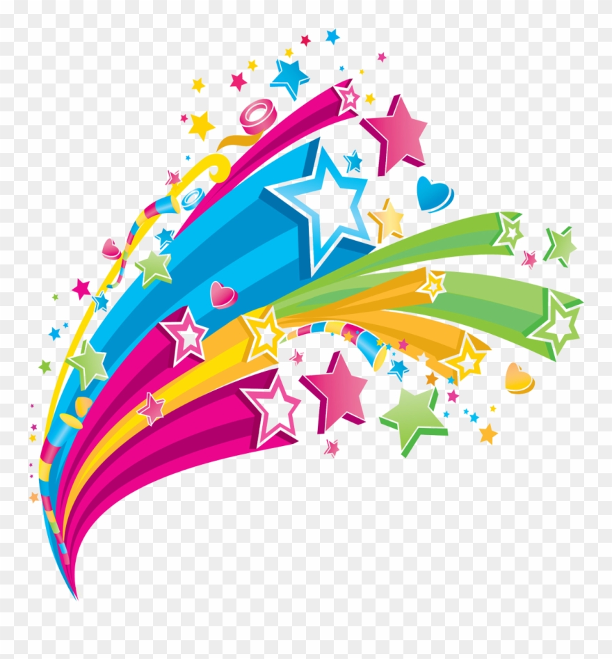 Cool designs coming out of a hand clipart graphic Creative Clipart Rainbow Hand - Colorful Star Design Png Transparent ... graphic