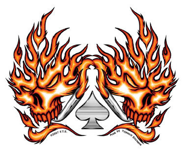 Cool flaming skull clipart freeuse Pics Of Flaming Skulls | Free Download Clip Art | Free Clip Art ... freeuse