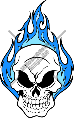 Cool flaming skull clipart. Clipartfest graphic