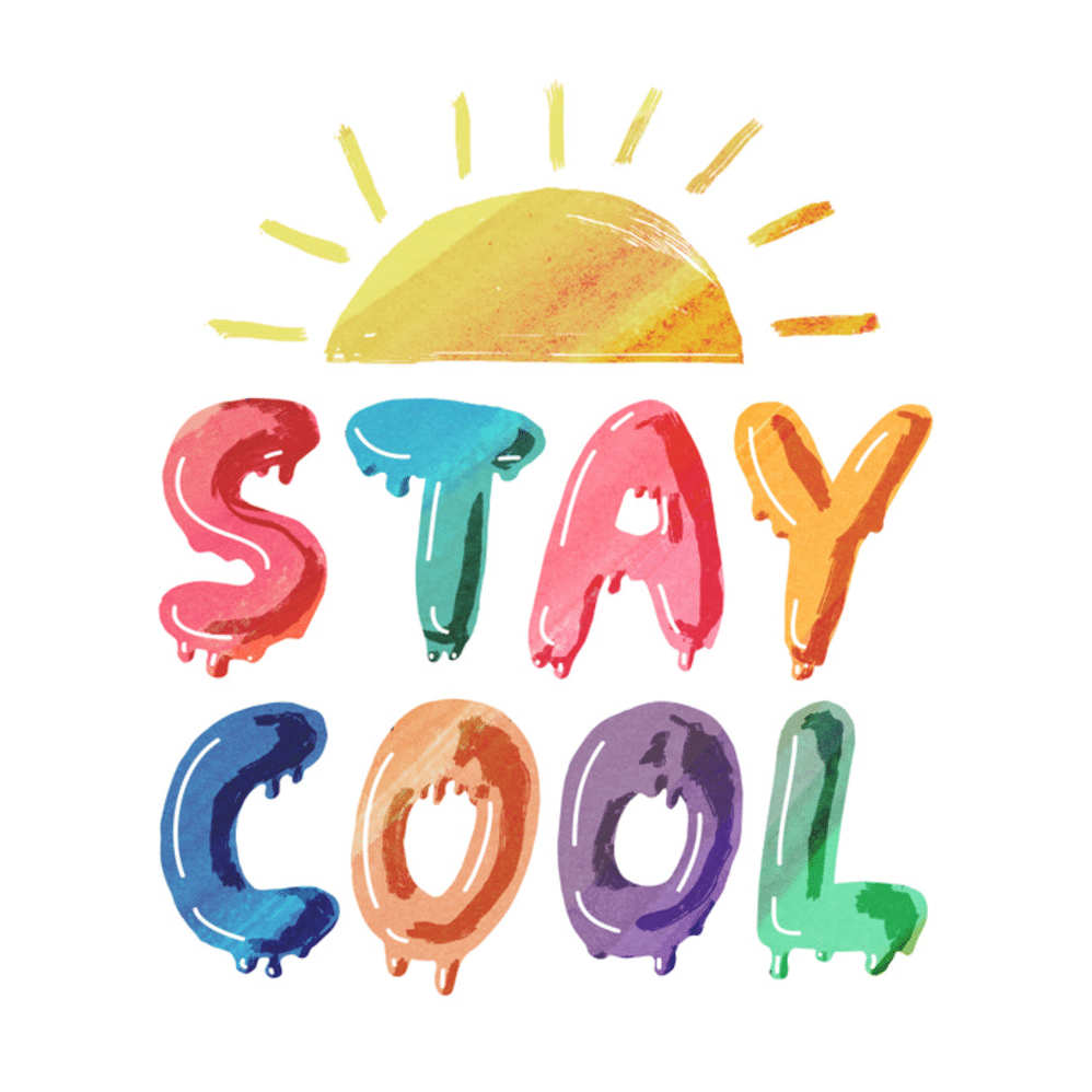 Keep cool clipart