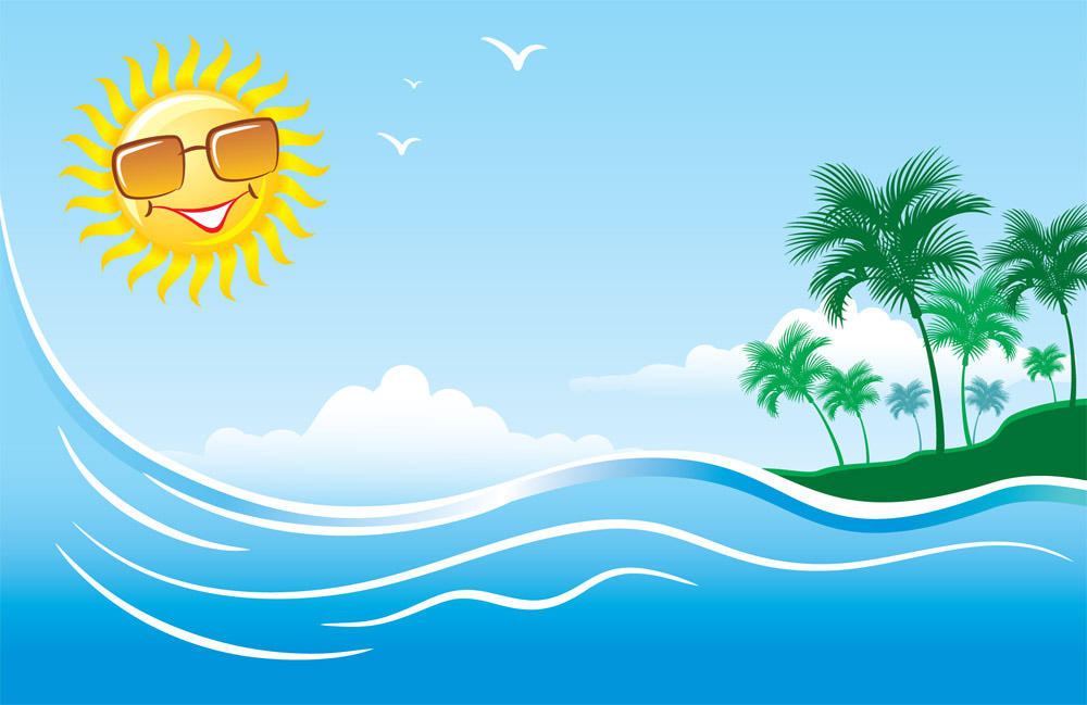 Summer time background clipart clipart library stock Cool summer clipart - Clip Art Library clipart library stock