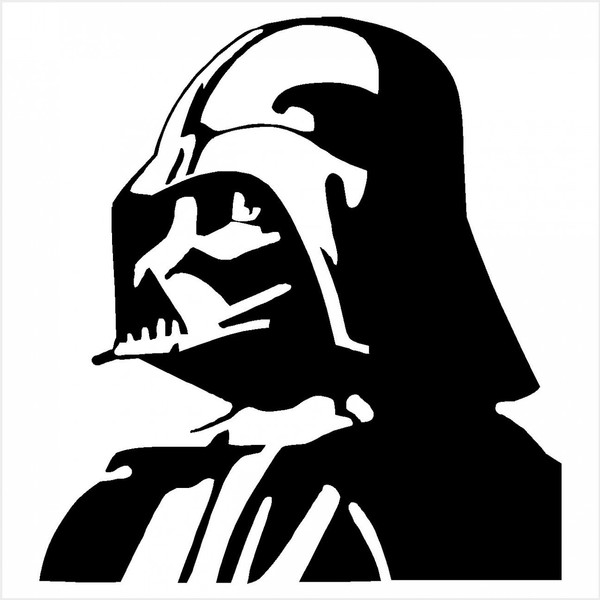 Cool free star wars black and white simple clipart jpg library stock Darth Vader Clipart | Free download best Darth Vader Clipart on ... jpg library stock