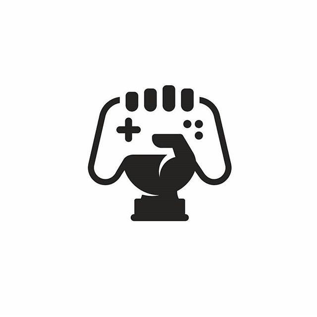 Cool gaming logo clipart clip art royalty free library Gaming logo design by @skiraila! | Logos, Marks & Symbols | Desain ... clip art royalty free library
