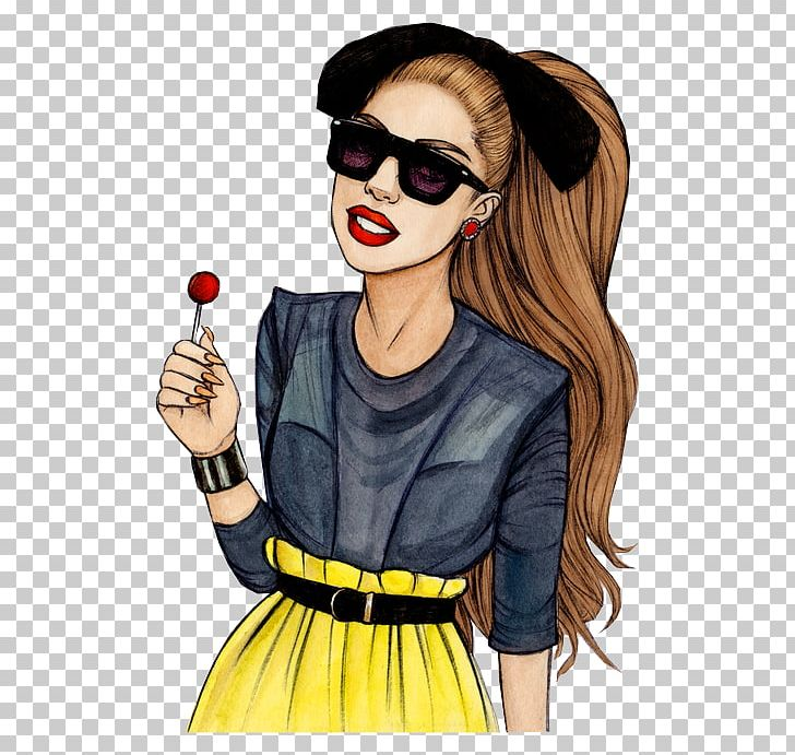 Cool lady clipart png free library Lady Gaga Drawing Art PNG, Clipart, Applause, Art, Brown Hair ... png free library