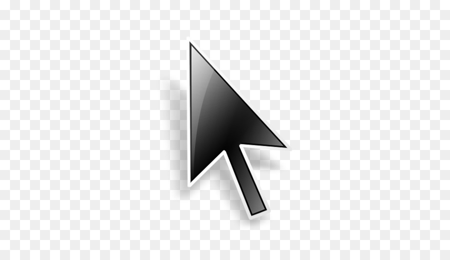 Cool mouse cursor clipart picture black and white download White Arrow Background clipart - Computer, Arrow, Triangle ... picture black and white download