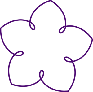 Cool shape cliparts vector transparent stock Purple Flower Shape Clip Art at Clker.com - vector clip art online ... vector transparent stock