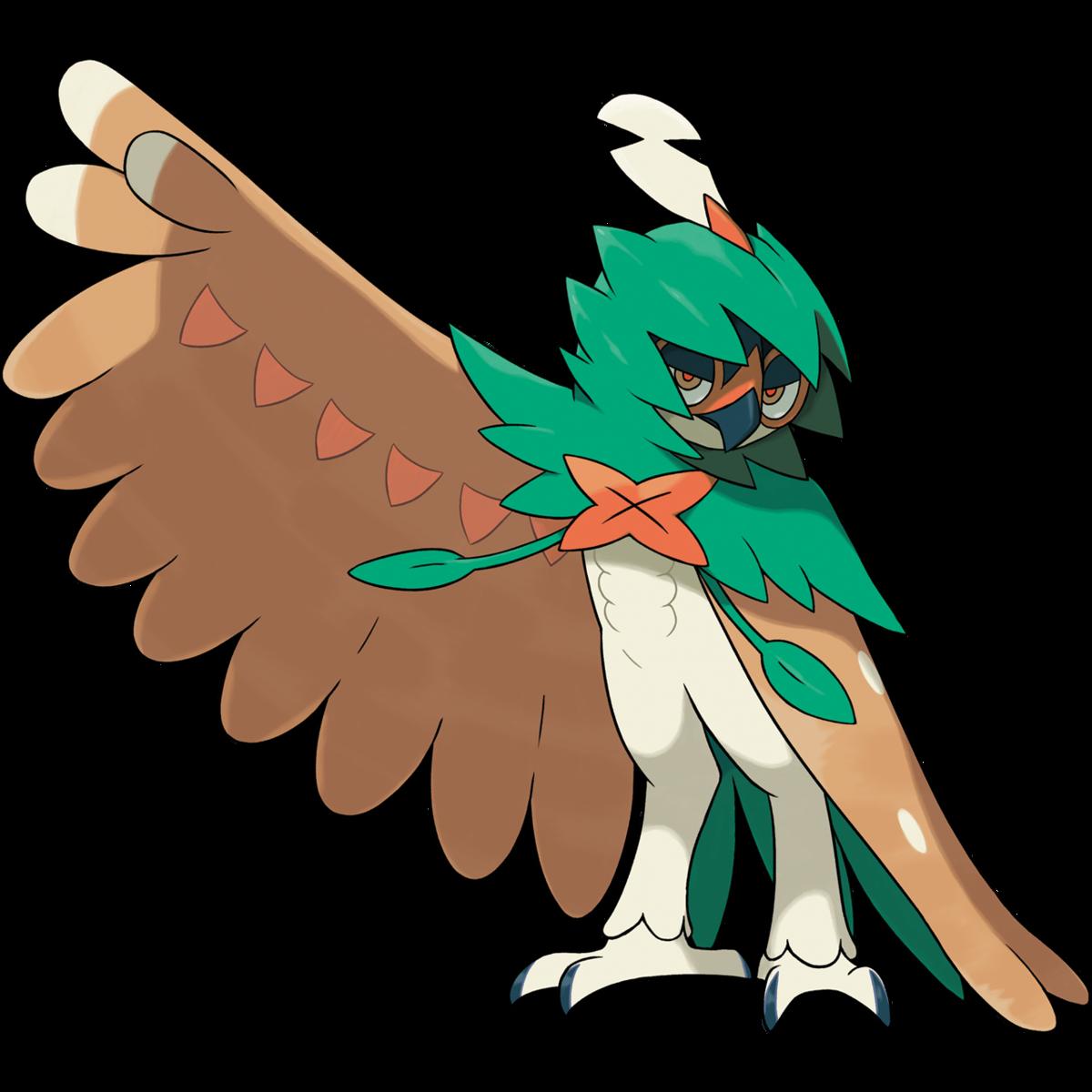 Cool sun blinking eye clipart svg freeuse library Decidueye (Pokémon) - Bulbapedia, the community-driven Pokémon ... svg freeuse library