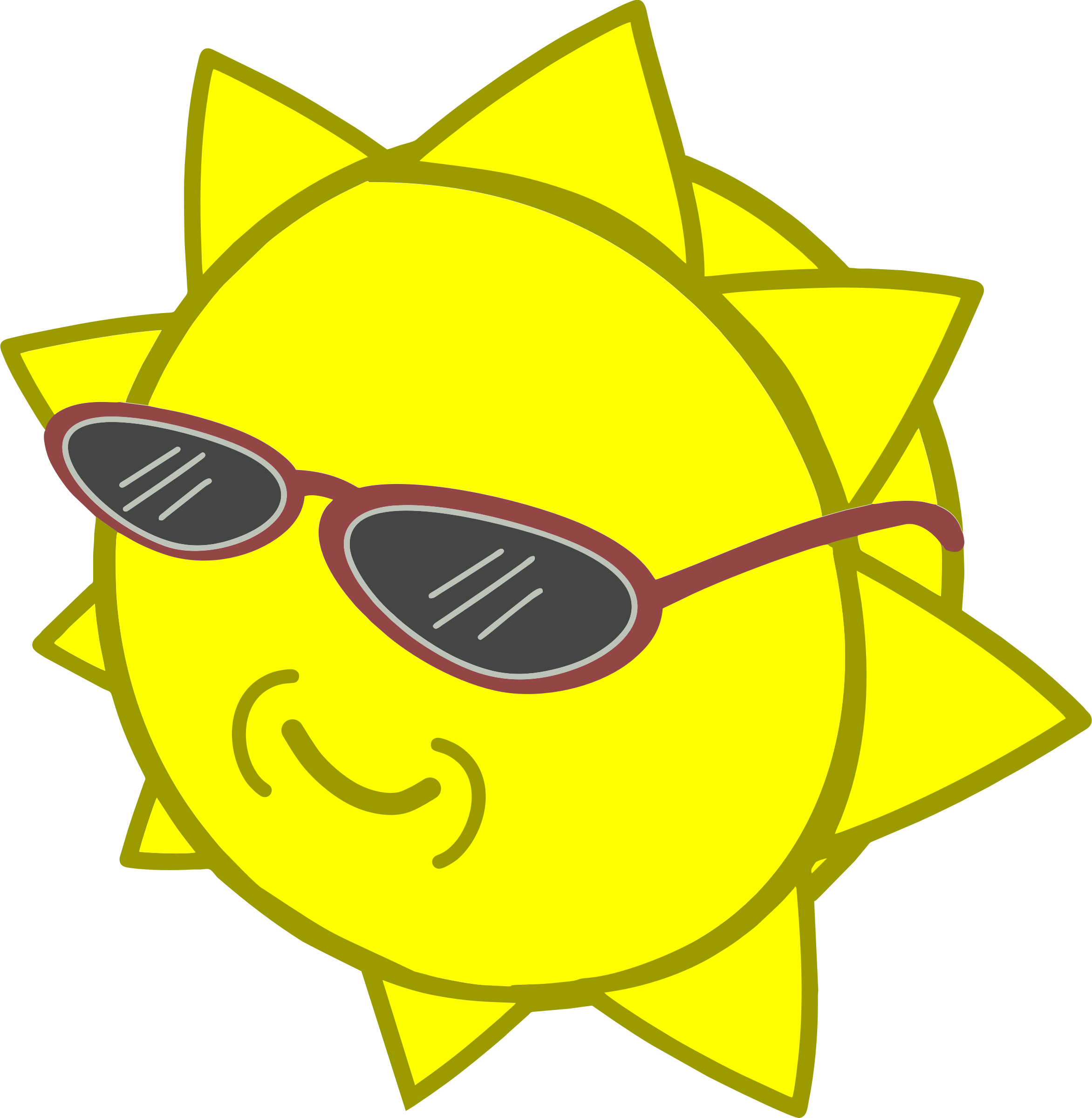 Cool sun clipart jpg royalty free library Clipart - Cool sun jpg royalty free library