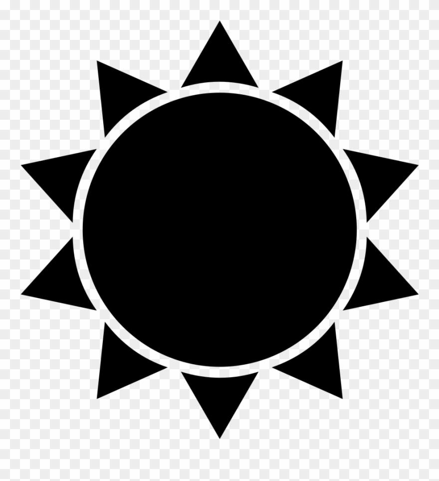 Sunshine silhouette clipart clip art free stock Sun Silhouette Clip Art At Getdrawings - Flat Icon Sun - Png ... clip art free stock