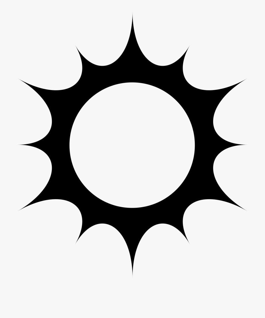 Cool sun clipart siloette black and white jpg transparent Sun Silhouette Clip Art At Getdrawings - Sun Silhouette Png #2362 ... jpg transparent
