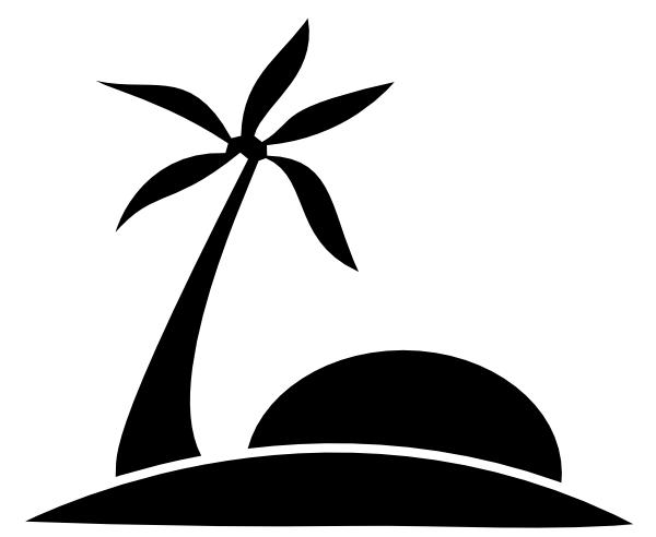 Cool sun clipart siloette black and white clip art black and white download Beach Black and white Clip art - Black And White Sun Clipart png ... clip art black and white download