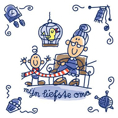 images about opa. Coole oma clipart