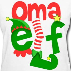 Gifts spreadshirt elf christmas. Coole oma clipart