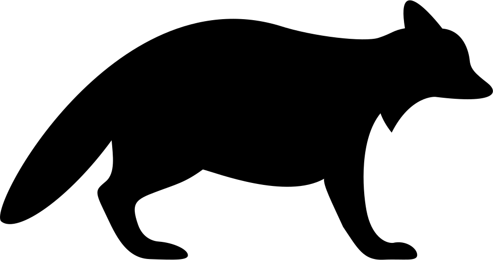 Coon hunting dog clipart clip royalty free Raccoon Silhouette at GetDrawings.com | Free for personal use ... clip royalty free