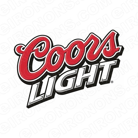 Coors light logo clipart svg free COORS LIGHT LOGO ALCOHOL T-SHIRT IRON-ON TRANSFER DECAL #ACL2 svg free
