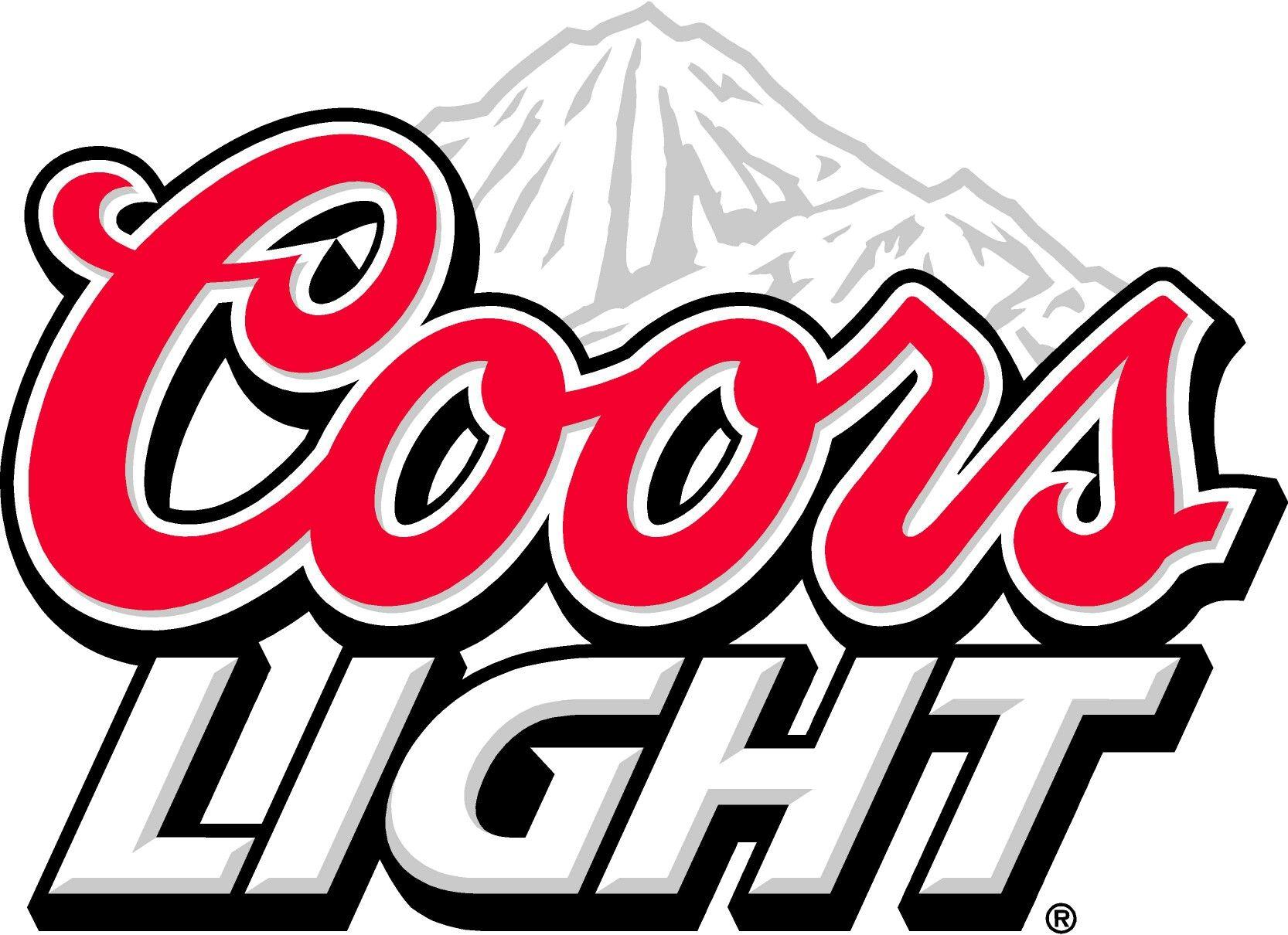 Coors light logo clipart clip transparent download Coors light stencil | stencils | Beer, Beer pong tables, Logos clip transparent download