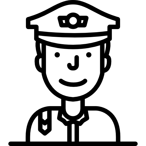 White cop clipart graphic transparent library Policeman Icons | Free Download graphic transparent library