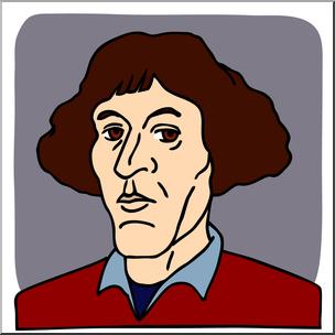Copernicus clipart image free stock Clip Art: Science: Copernicus Color I abcteach.com   abcteach image free stock