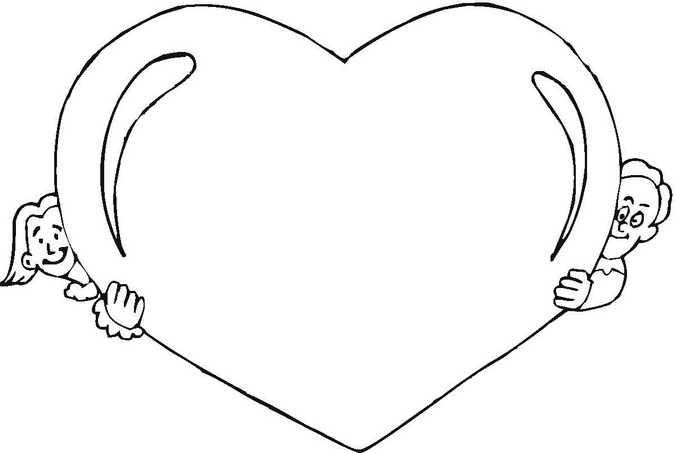 Copy and paste double hearts clipart banner black and white download Copy and paste double hearts clipart - ClipartFest banner black and white download