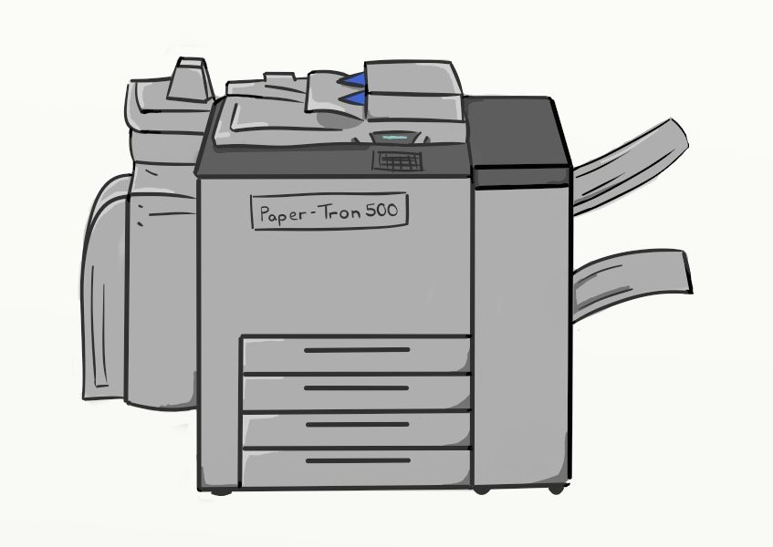 Photostat machine clipart jpg transparent library Free Copier Cliparts, Download Free Clip Art, Free Clip Art on ... jpg transparent library