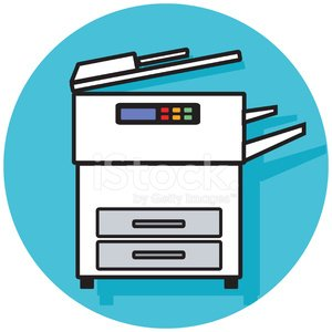 Copy machine clipart graphic free library Copy Machine Icon premium clipart - ClipartLogo.com graphic free library