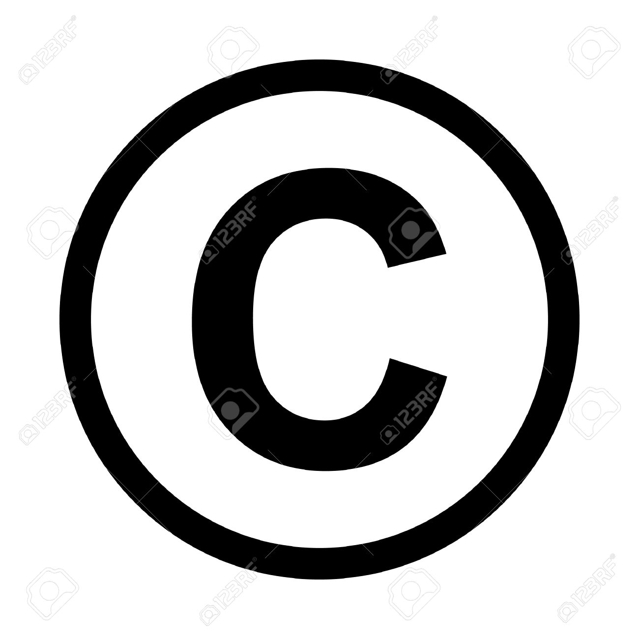 Copyright free icons clipart image black and white stock Copyright Icon #131025 - Free Icons Library image black and white stock