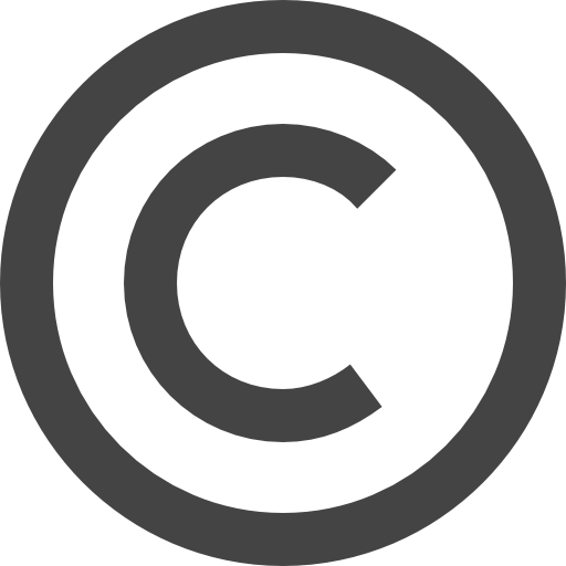 Copyright symbol clipart free download