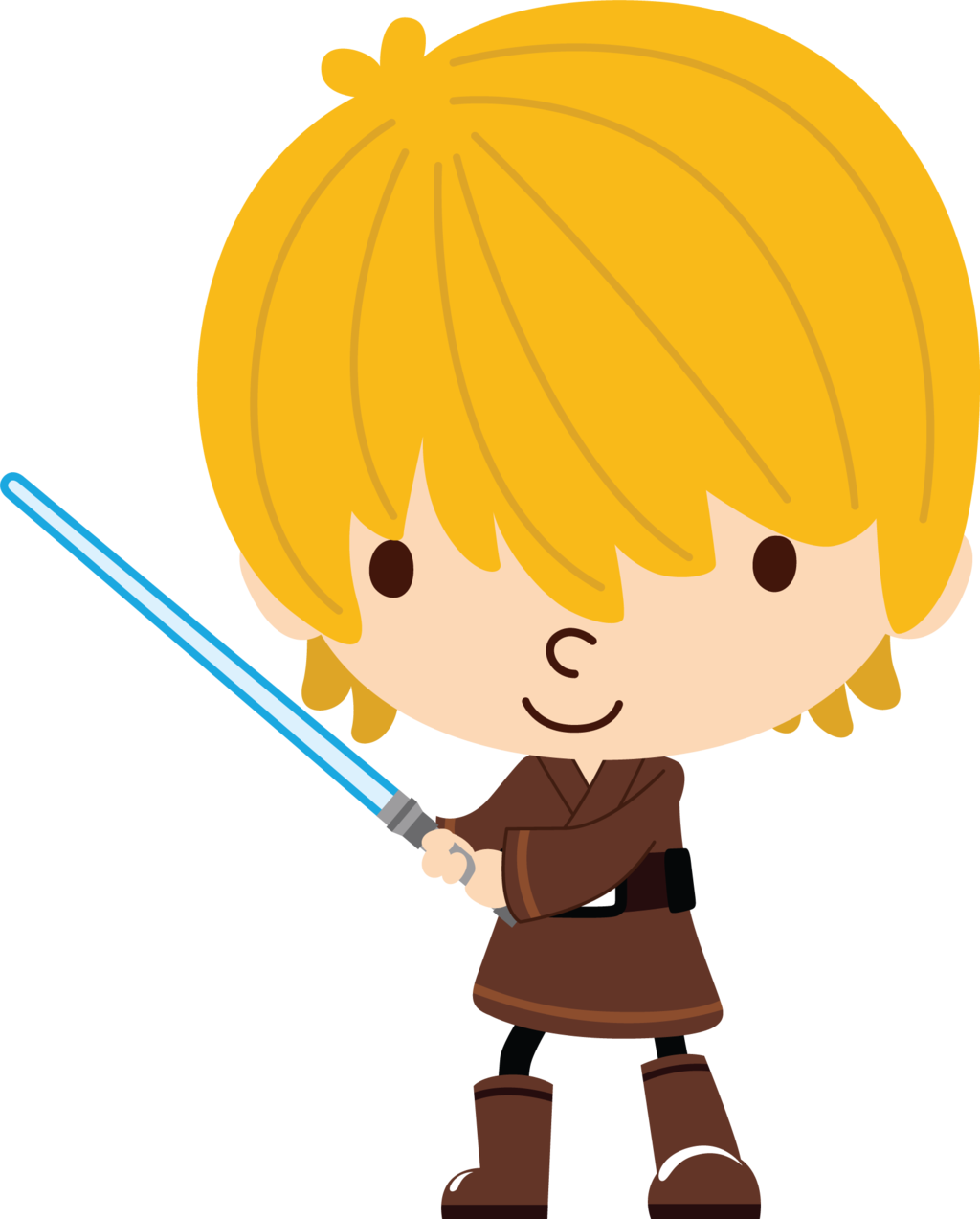 Star wars clipart luke skywalker svg freeuse Star Wars Luke Skywalker By Chrispix326 svg freeuse