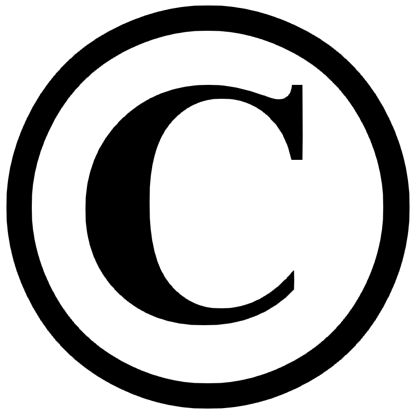 Copyright logo graphic black and white library image copyright, logo copyright ©, signe copyright ©, sigle ... graphic black and white library