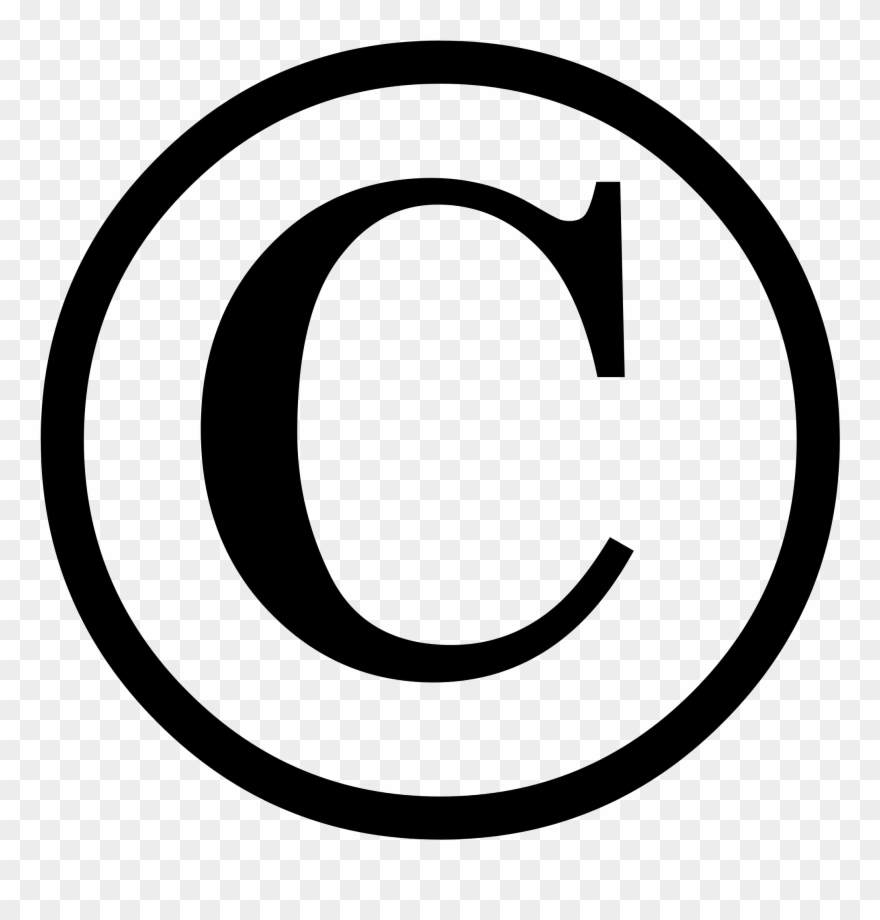 Copyright logo white clipart png royalty free download Copyright Png - Copyright Symbol Png Transparent Background Clipart ... png royalty free download