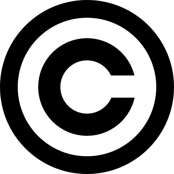 Copyright symbol clipart free download jpg library download Copyright clip art Free vector in Open office drawing svg ( .svg ... jpg library download